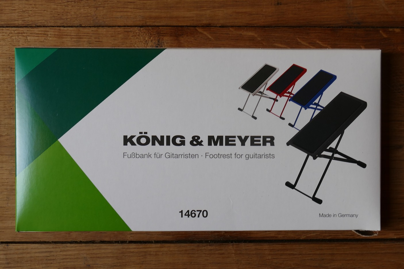 K/&M Fußbank 14670 nickelfarbig
